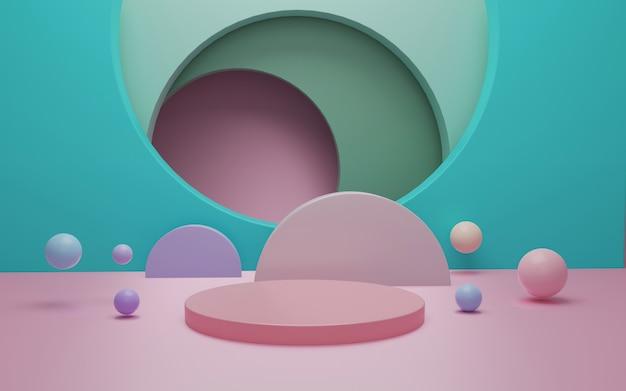 Абстрактная сцена для отображения продукта