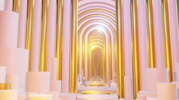건축 및 건물 장면의 벽지에 대한 추상 장면 파스텔 색상 배경