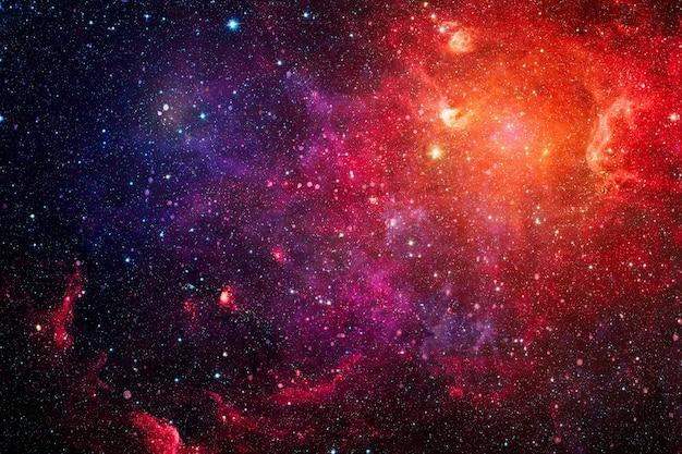추상 과학적 배경입니다. 깊은 우주에있는 성운의 이미지. 우주에서 은하와 성운. 제공된이 이미지의 요소