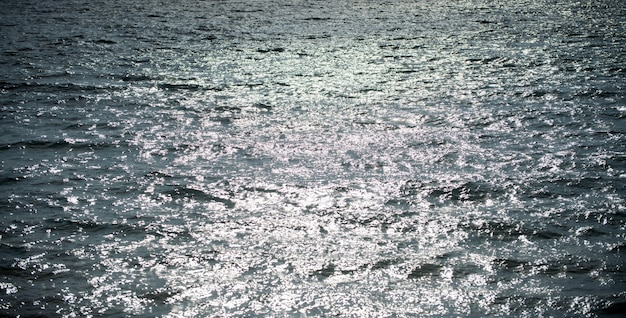 Abstract sea nature background. water waves in sunlight with copy space. tropical beach. watering place. aqua sea water surface.
