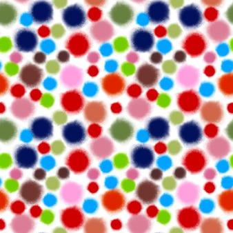 여러 가지 빛깔의 도트 패턴으로 추상 원활한 배경