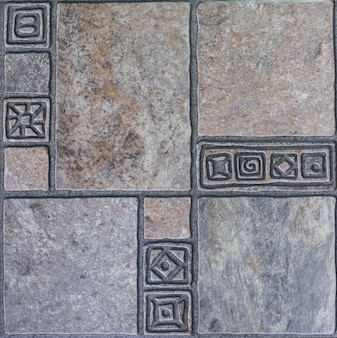 Абстрактная мозаика бесшовные модели керамической плитки для интерьера