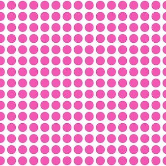 抽象的なシームレスなピンクの円テンプレートの背景