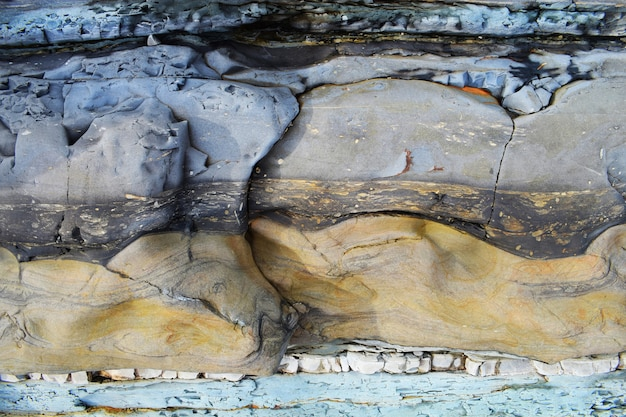 抽象的な海岸の石の背景