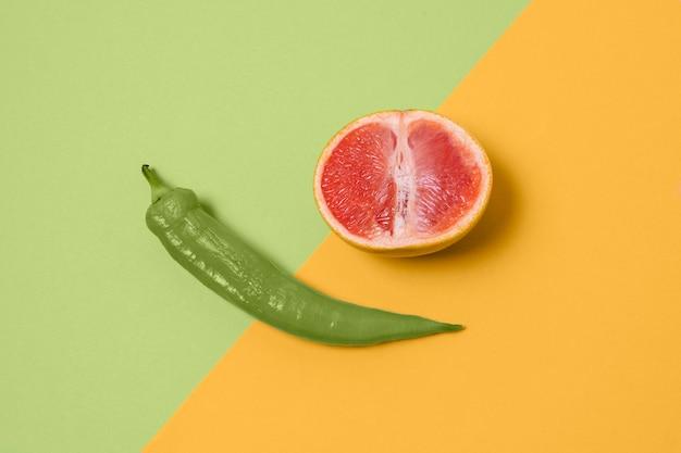 食物との抽象的な性的健康の取り決め