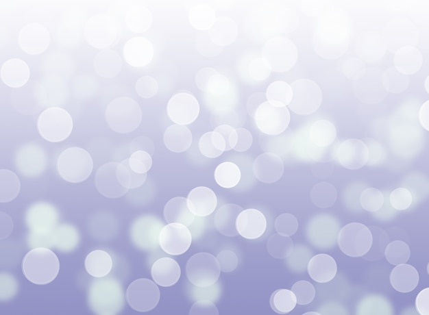 Abstract silver lights bokeh lights background