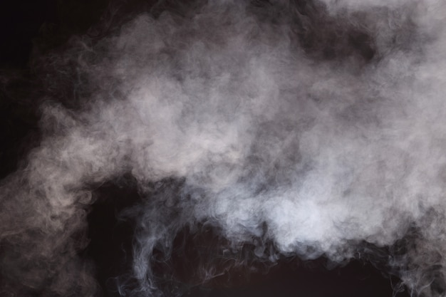 Abstract smoke clouds, all movement blurred background