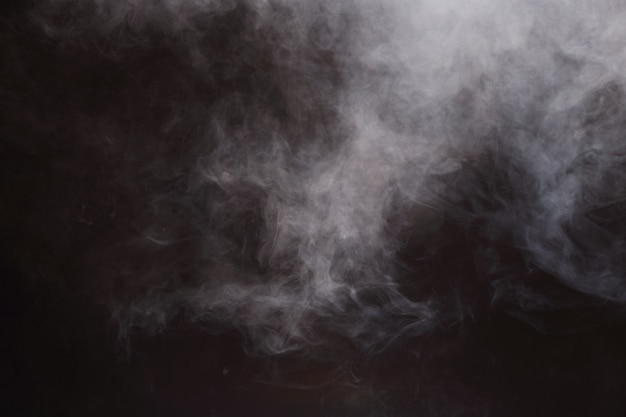Abstract smoke clouds background, all movement blurred