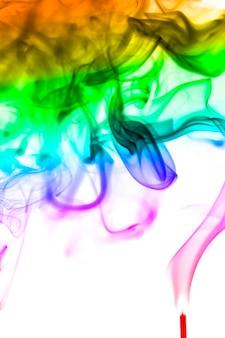 Abstract smoke colours
