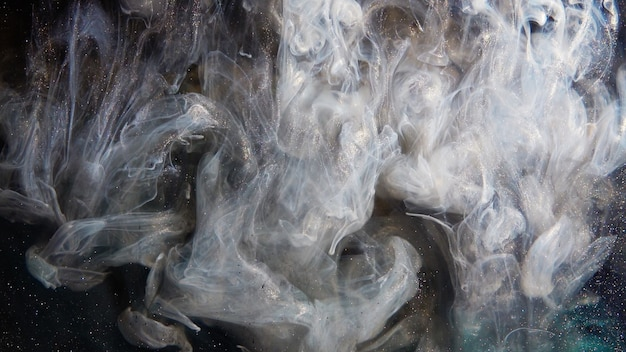 Abstract smoke explosion
