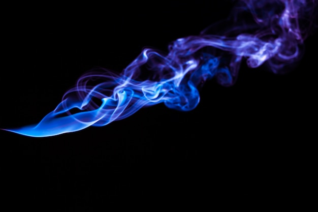 Abstract smoke light effect background