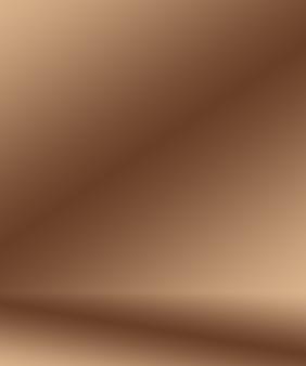 Абстрактный гладкий коричневый дизайн стены фон макета, студия, комната, веб-шаблон, бизнес-отчет с плавным кругом градиентного цвета.
