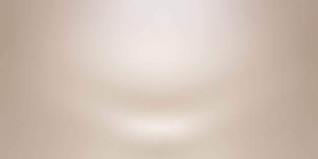Progettazione del layout del fondo della parete marrone liscia astratta, studio, camera, modello web, relazione aziendale con colore sfumato del cerchio liscio. Foto Gratuite