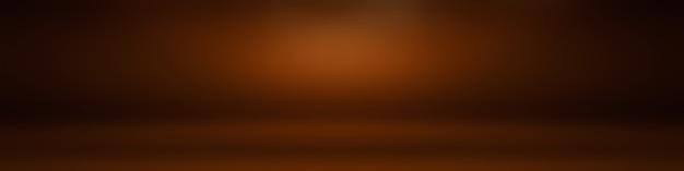 抽象的な滑らかな茶色の壁の背景レイアウトデザイン、スタジオ、部屋、ウェブテンプレート、滑らかな円のグラデーションカラーのビジネスレポート
