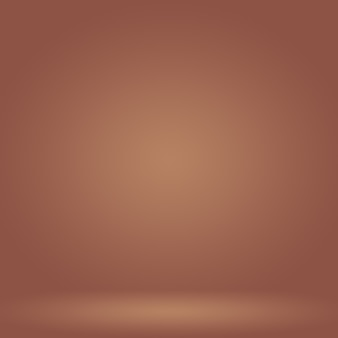 Progettazione del layout di sfondo della parete marrone liscia astratta, modello web, rapporto aziendale con colore sfumato del cerchio liscio