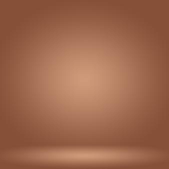 Абстрактная гладкая коричневая стена фона макета, веб-шаблон, бизнес-отчет с плавным кругом градиентного цвета.