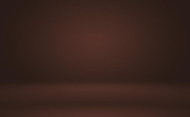 Progettazione del layout del fondo della parete marrone liscia astratta, modello web, relazione aziendale con colore sfumato del cerchio liscio.