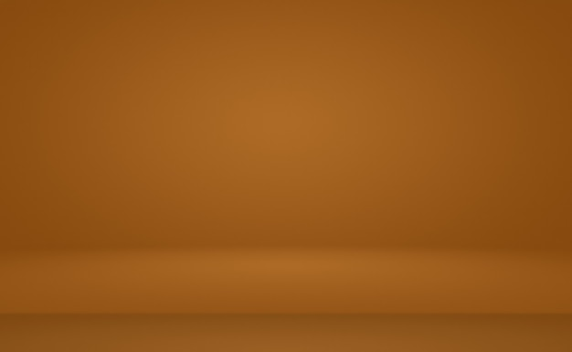 Abstract smooth brown wall background layout designstudioroomweb templatebusiness report with smooth circle gradient color