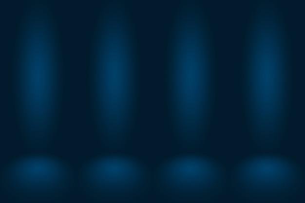 Black vignette studio가 있는 추상적이고 부드러운 진한 파란색은 배경, 비즈니스 보고서, 디지털, 웹 사이트 템플릿, 배경으로 잘 사용됩니다.