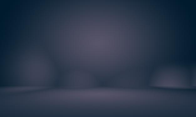 검은색 비네트 스튜디오가 있는 추상적이고 부드러운 짙은 파란색은 배경비즈니스 보고서디지털 웹으로 잘 사용됩니다.
