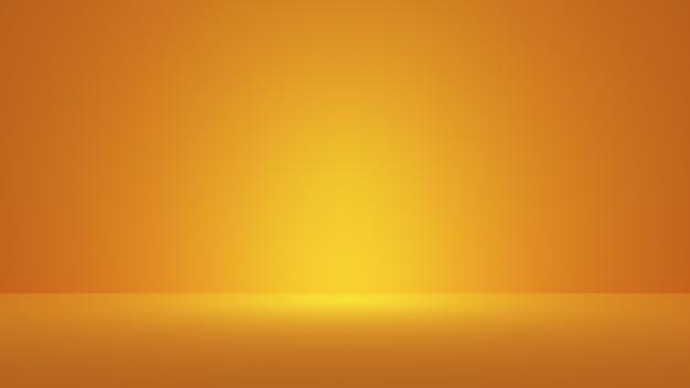 抽象的な滑らかな濃い黄色