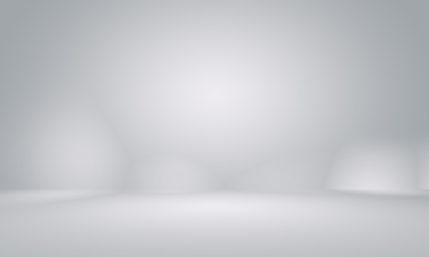 Abstract smooth empty grey studio well use as background,business report,digital,website template,backdrop.