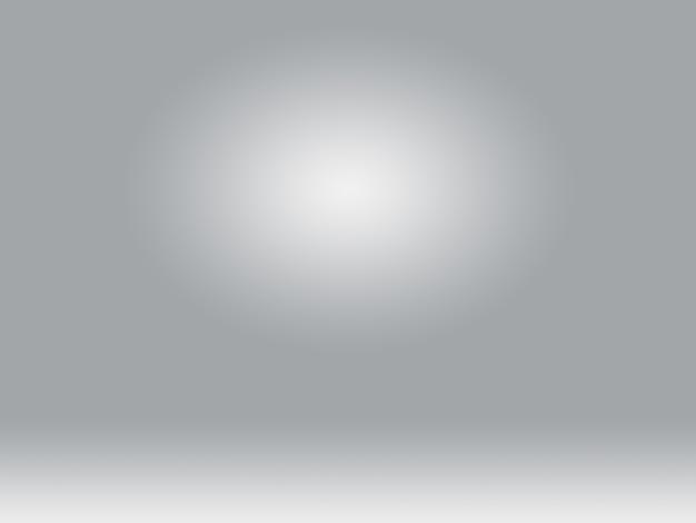 抽象滑らかな空の灰色のスタジオは、背景、ビジネスレポート、デジタル、ウェブサイトテンプレート、背景としてよく使用します。