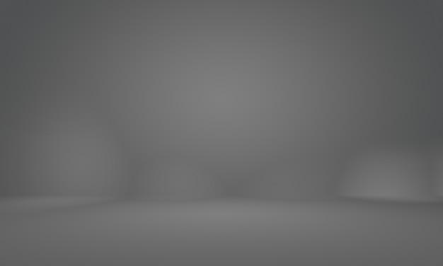 Абстрактная гладкая пустая серая студия хорошо используется в качестве фона, бизнес-отчета, цифрового, шаблона веб-сайта, фона.