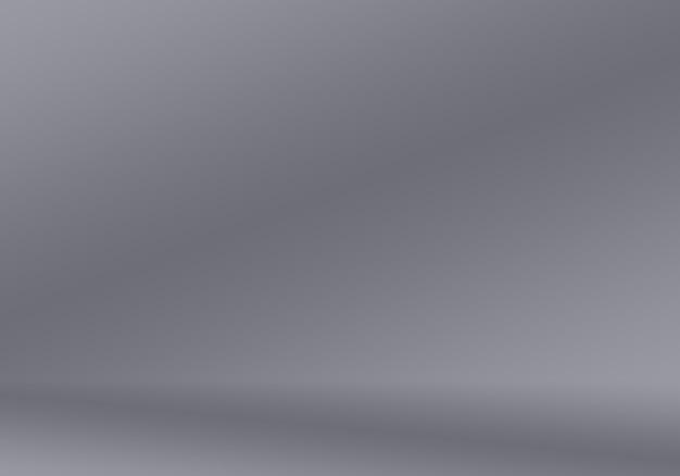 抽象滑らかな空の灰色のスタジオは、背景、ビジネスレポート、デジタル、ウェブサイトテンプレート、背景としてよく使用されます。