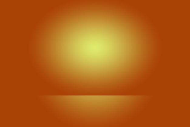 Абстрактный гладкий оранжевый дизайн фона макета, студия, комната, веб-шаблон, бизнес-отчет с плавным кругом градиентного цвета