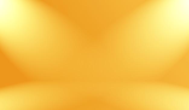 抽象的な滑らかなオレンジ色の背景レイアウトデザイン、スタジオ、部屋、webテンプレート、滑らかな円のグラデーションカラーのビジネスレポート。