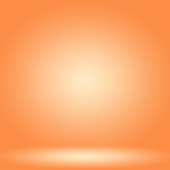 Abstract smooth orange background layout design,, web template ,business report with smooth circle gradient color.