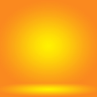 Abstract smooth orange background layout design