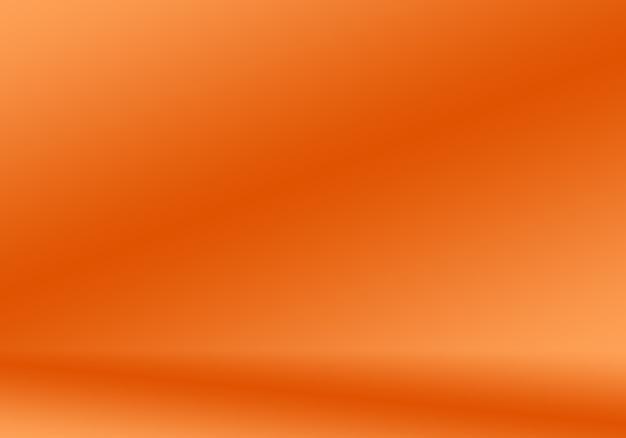 Progettazione di layout di sfondo arancione liscio astratto designstudioroom modello web rapporto di affari con c...