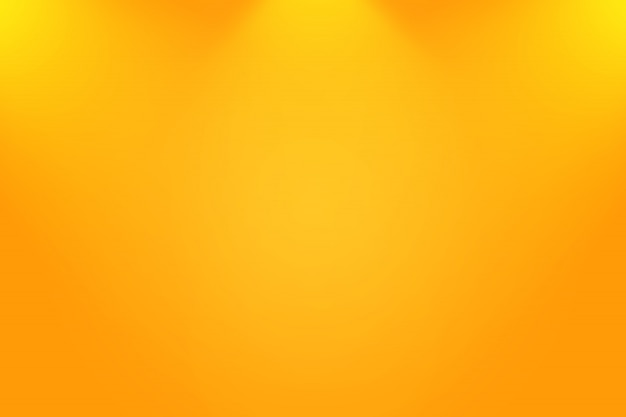Abstract smooth orange background layout