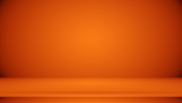Abstract smooth orange background