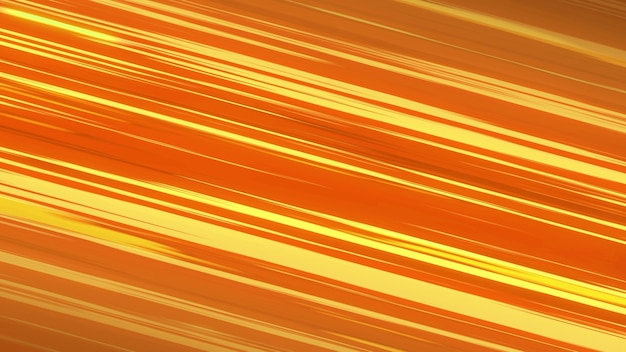 Abstract speed lines background, energy. comic style orange diagonal speed lines. 3d rendering.