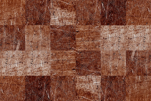 Abstract square metal sheet background texture