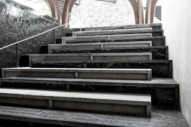 抽象的な階段ステップ