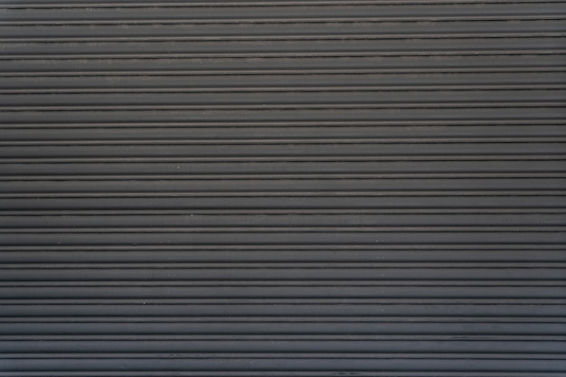 Abstract steel wall horizontal stripes copy space