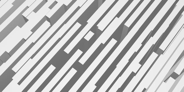 추상 스틱 배경 빛과 그림자 3d 그림 (1)