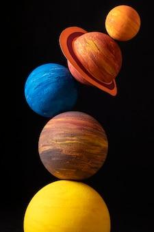 Абстрактная композиция вселенной натюрморта
