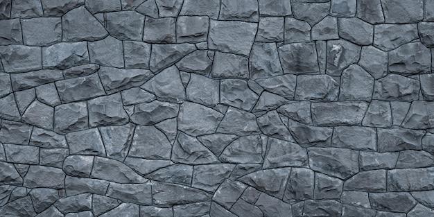 추상 돌 질감입니다. 회색 빈 벽돌 벽 배경, 건축 외관.