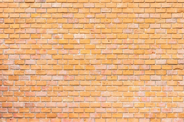 Abstract and surface old brown brick wall background