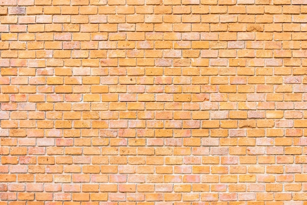 Abstract and surface old brown brick wall texture background