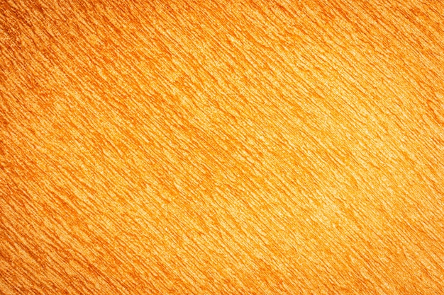 Abstract surface and texuture of orange cotton fabric textures