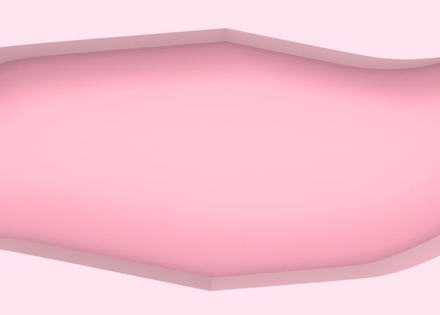 Абстрактные сладкий розовый пустой экземпляр пространства рамки стены фон.