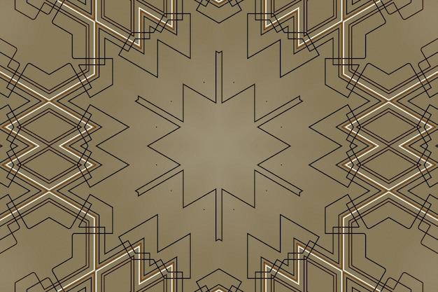 抽象的な技術メカニズムの背景、デジタル幾何学的技術要素、接続部品の線形形状