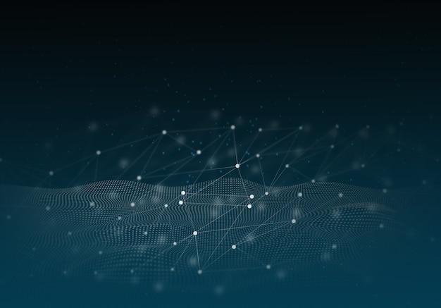Абстрактный фон технологии привет-тек концепция связи, технологии, цифровой бизнес.
