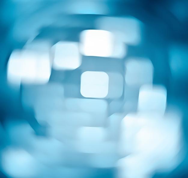 Абстрактный технологический фон с геометрическими фигурами